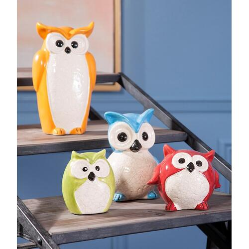 Enchanted Owls - Set of 4
