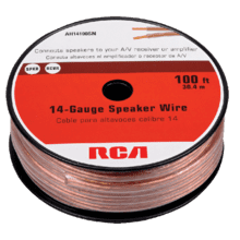 View Product - 100 Foot 14 Gauge Speaker Wire