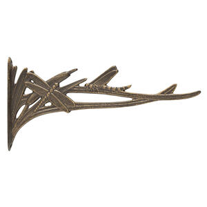 Dragonfly Nature Hook - French Bronze Product Image