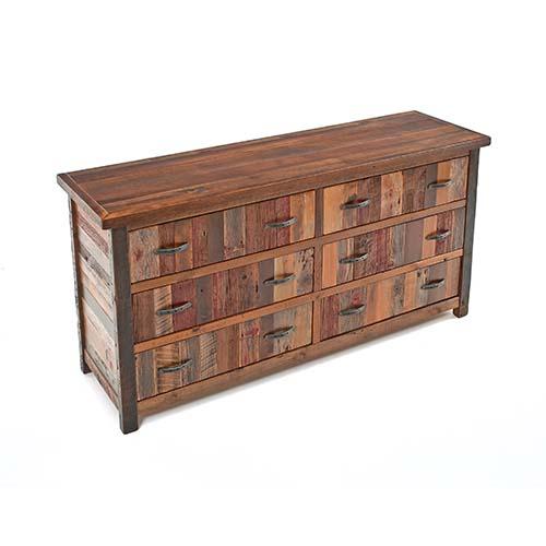 Green Gables Furniture - Back To the Barn - 6 Drawer Dresser