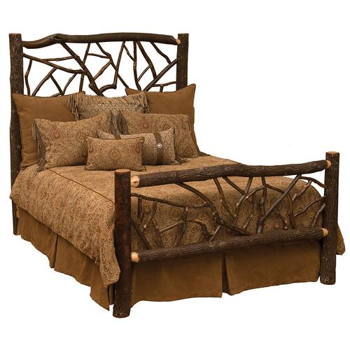 Twig Bed - Double - Cognac