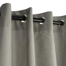 See Details - Sunbrella Spectrum Dove Outdoor Curtain with Grommets