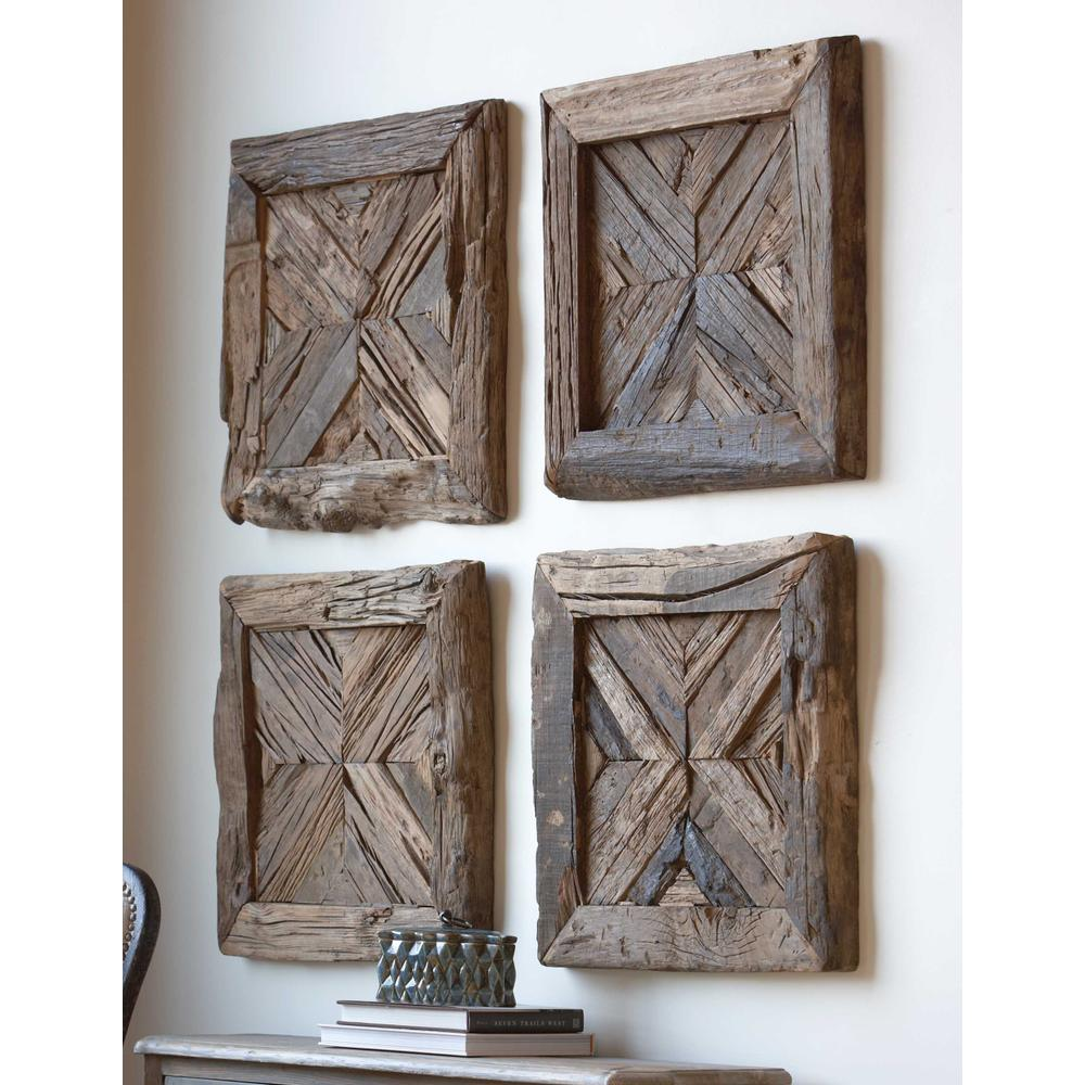 See Details - Rennick Wood Wall Square