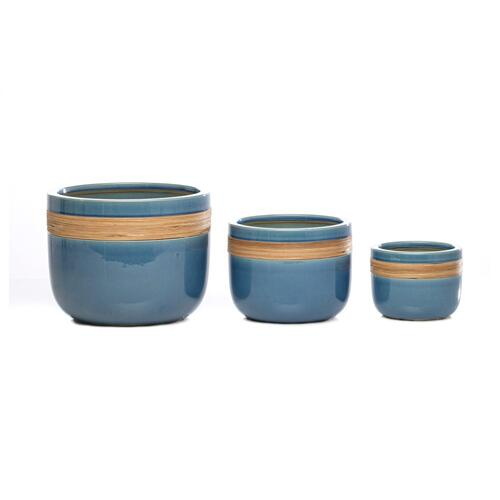 Coil Cachepot - Set of 3