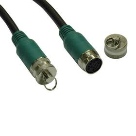 Easy Pull Long-Run Display Cable - Type-A Analog Plenum Trunk Cable, 35 ft.