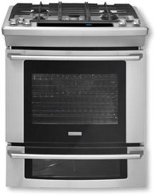 [CLEARANCE] 30'' Dual-Fuel Built-In Range with Wave-Touch® Controls. Clearance stock is sold on a first-come, first-served basis. Please call (617) 268-7500 for product condition and availability.