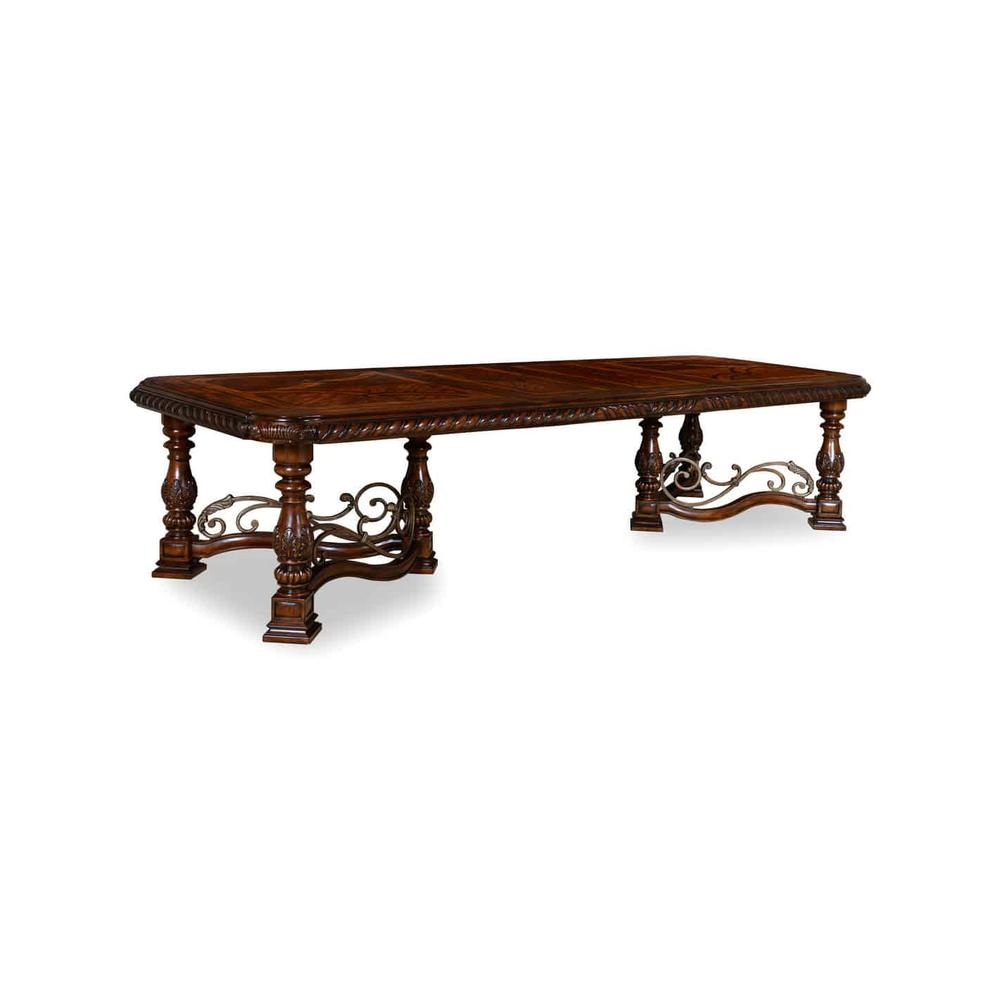 See Details - Valencia Trestle Dining Table