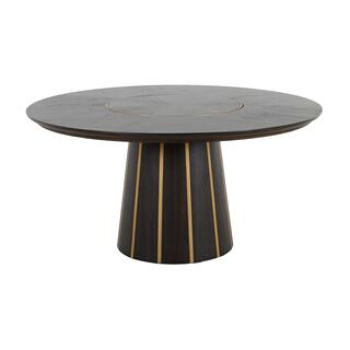 Morgan Dining Table - Dark Brown