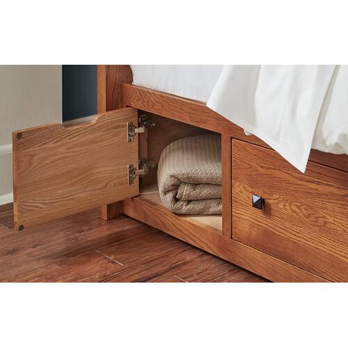 A America - KING STORAGE BED