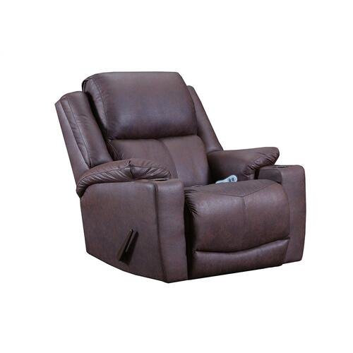 Chaz Coffee Heat and Massage Recliner