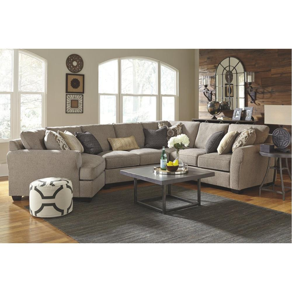 Product Image - Pantomine 4-piece Sectional With Cuddler