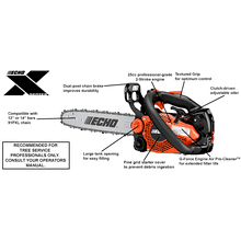 CS-2511T Top Handle Chainsaw ECHO X Series