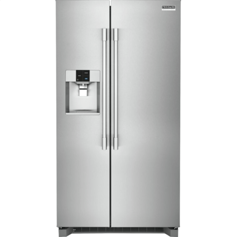 Professional 22.0 Cu. Ft. Counter-Depth Side-by-Side Refrigerator