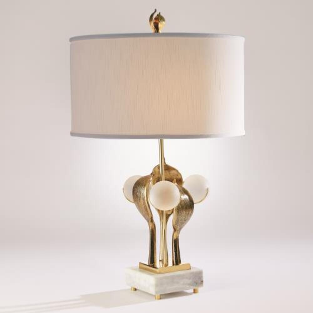 Eden Table Lamp-Brass