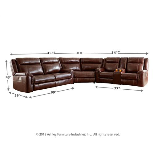 Wyline 3-piece Power Reclining Sectional