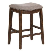 Saddle Stool In Brown