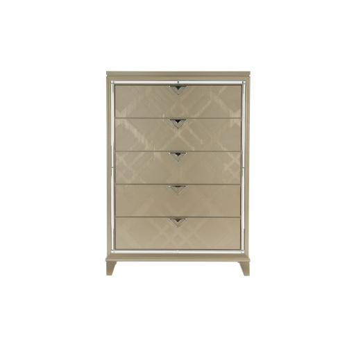 Dresser with Hidden Jewelry Drawers