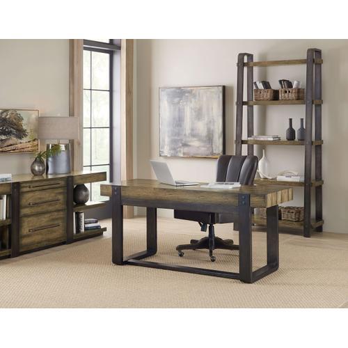 Crafted Leg Desk Credenza