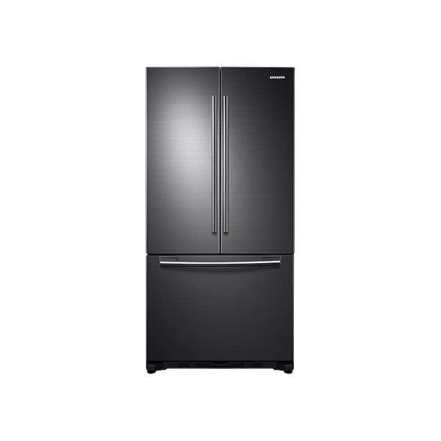 Samsung Appliances 20 cu. ft. French Door Refrigerator in Black Stainless Steel
