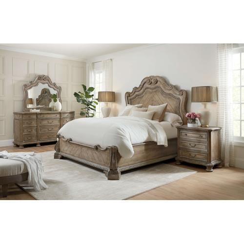 Product Image - Castella California King Panel Bed