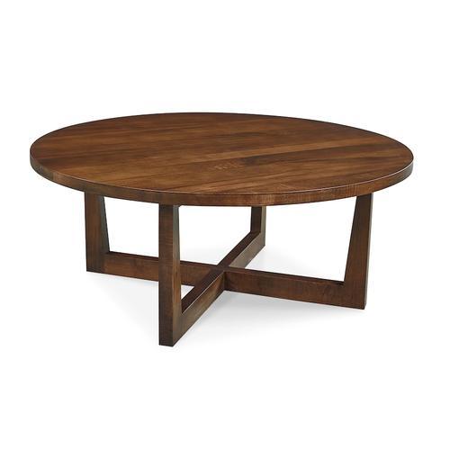 Bassett Furniture - Liam Maple Round Cocktail Table