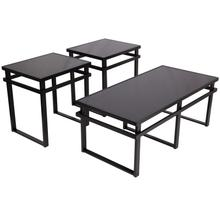 Signature Design by Ashley Laney 3 Piece Occasional Table Set [FSD-TS3-32BK-GG]