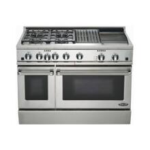 "48"" Dual Fuel, 4 Burner, Griddle & Grill"