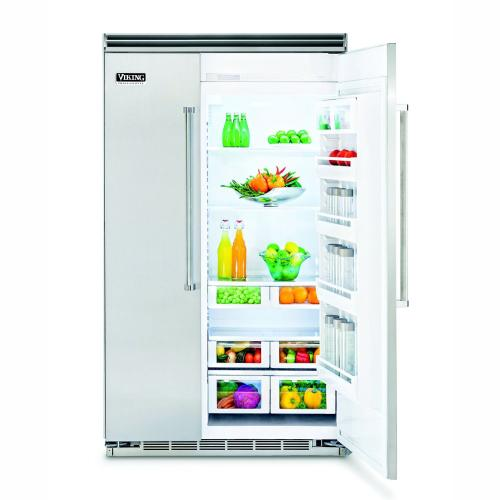 "48"" Custom Panel Side-by-Side Refrigerator/Freezer - FDSB5483 Custom Panel"