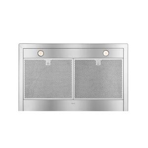 "WTT32 - 36"" Brushed Stainless Steel Wall Mount Chimney Hood with Internal 400 Max CFM Blower"