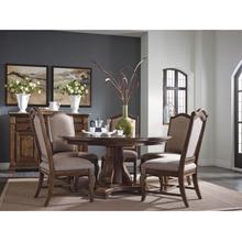 """View Product - Stellia 60"""" Pedestal Table - Complete"""