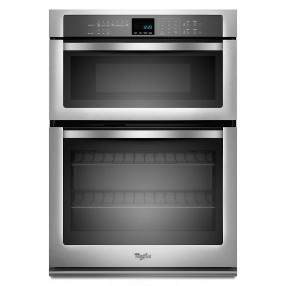 Whirlpool - 5.0 cu. ft. Combination Microwave Wall Oven with SteamClean Option