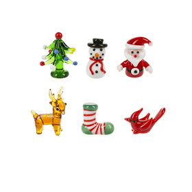 Mini Glass Figurines (36 pc. ppk.)