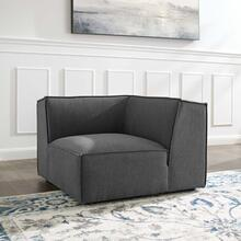 Restore Sectional Sofa Corner Chair in Charcoal