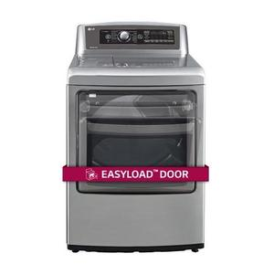 Lg7.3 cu.ft. Ultra Large SteamDryer™ with EasyLoad™ Door