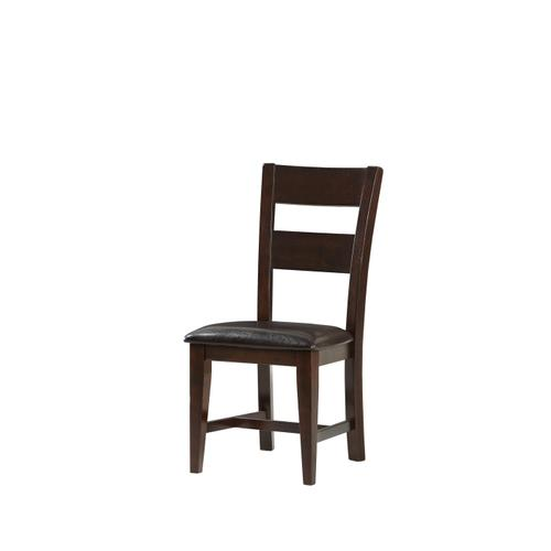 Fairwood Upholstered Seat Dining Chair, Espresso Brown 1289-321-s