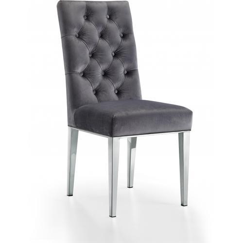 """Juno Velvet Dining Chair - 19"""" W x 20.5"""" D x 42"""" H"""