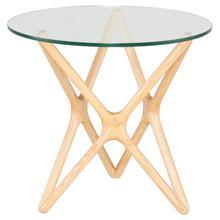 Star Side Table  Raw Ash