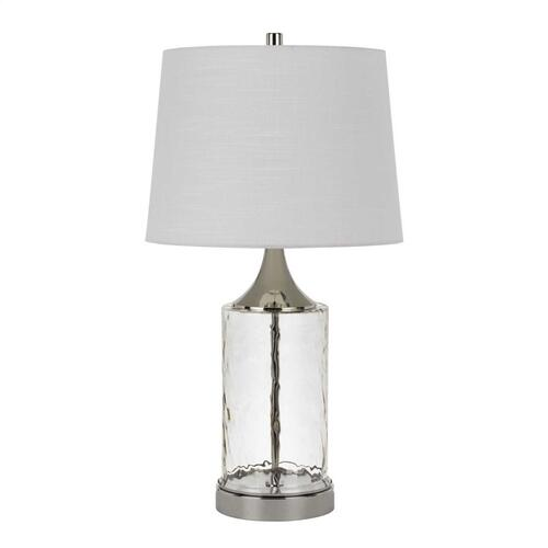 Forssa 150W 3 Way Glass Table Lamps (Sold And Priced As Pairs)