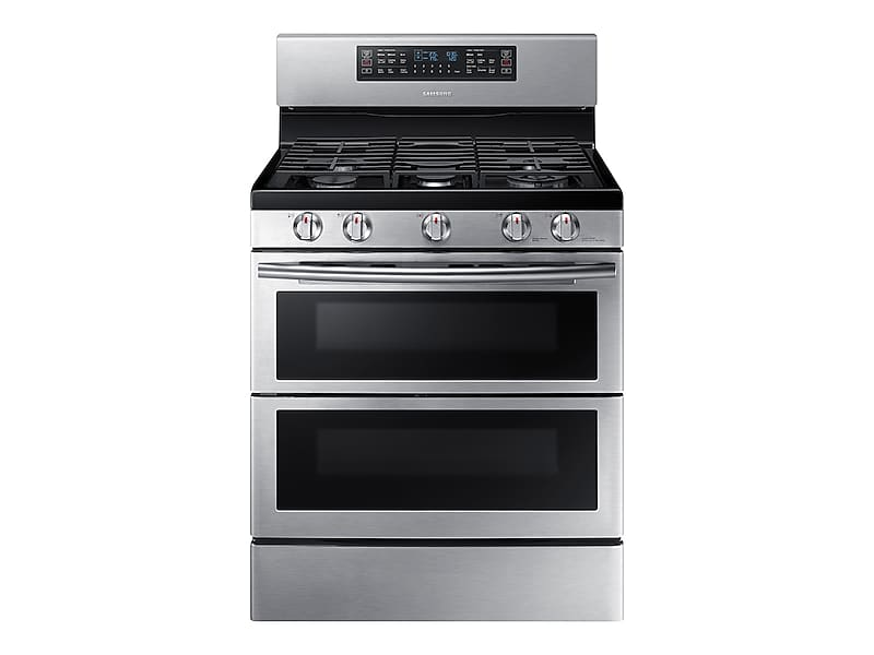 Samsung5.8 Cu. Ft. Freestanding Gas Range With Flex Duo™ & Dual Door In Stainless Steel