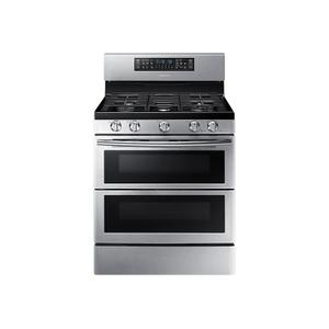 5.8 cu ft. Smart Freestanding Gas Range with Flex Duo™ & Dual Door in Stainless Steel - STAINLESS STEEL