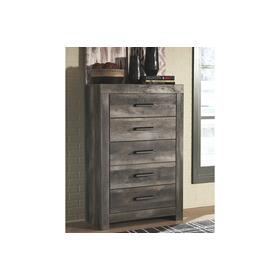 Wynnlow Five Drawer Chest Gray