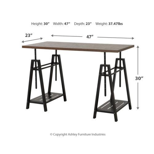 Signature Design By Ashley - Irene Adjustable Height Desk