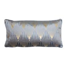 See Details - 6843780 - Pillow 60x30 cm JANISE blue-gold