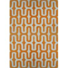 Durable Hand Tufted Transition TF36 Area Rug by Rug Factory Plus - 2' x 3' / Orange