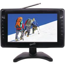 "10"" Portable LCD TV, AC/DC Compatible with RV/Boat"