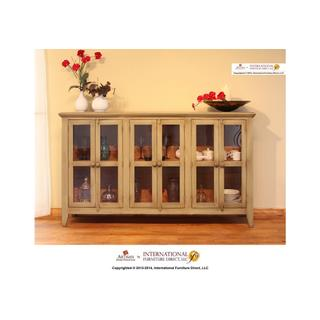 See Details - Olive Console w/6 Doors