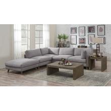 5pc-2 Armless-2 Corner Chairs-1 Otto-dune Gray