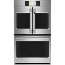"""Café 30"""" Built-In French-Door Double Convection Wall Oven Stainless Steel"""