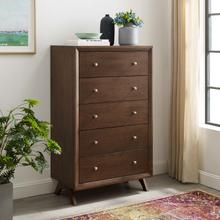 See Details - Providence Five-Drawer Chest or Stand in Walnut