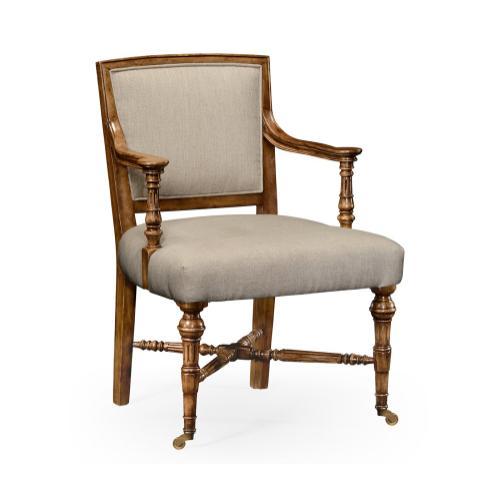 Halwell Grey Fruitwood Chair